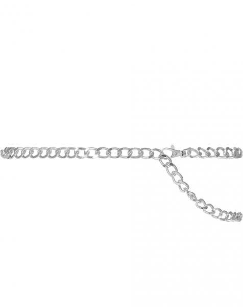 SKYLAR CHAIN BELT SILVER