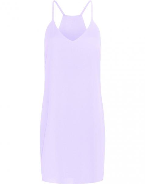 EMMA PLAIN DRESS LILA