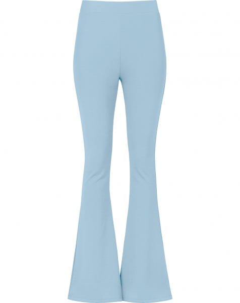 MOST WANTED FLARED PANTS BABYBLUE