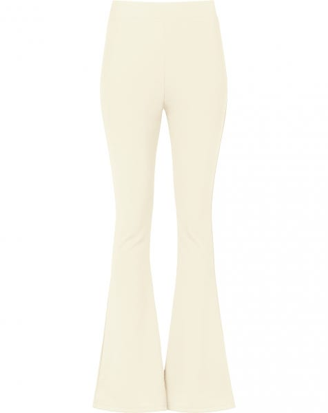 MOST WANTED FLARED PANTS BEIGE