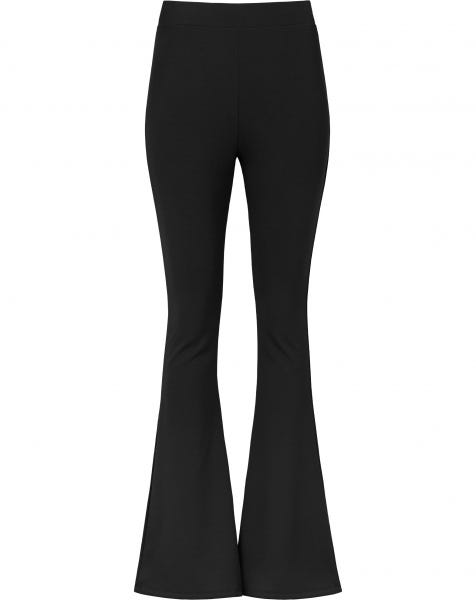 MOST WANTED FLARED PANTS BLACK