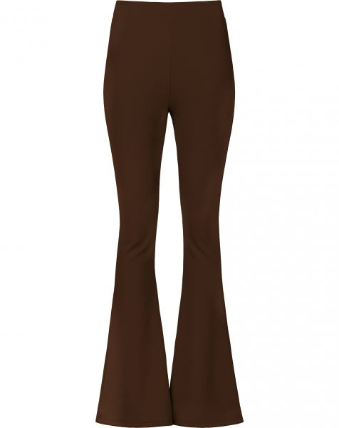 MOST WANTED FLARED PANTS BROWN