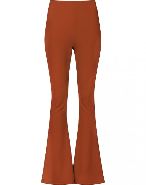 MOST WANTED FLARED PANTS RUST