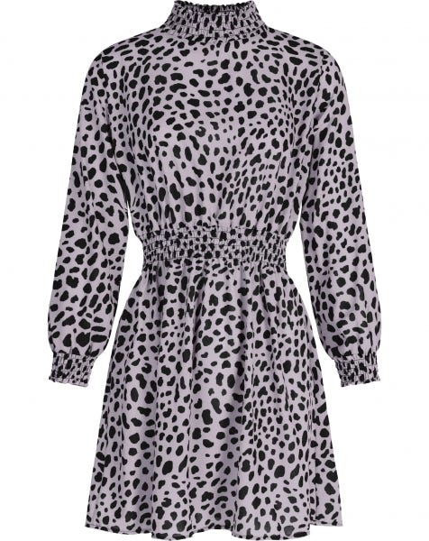 DENA CHEETA DRESS LILA