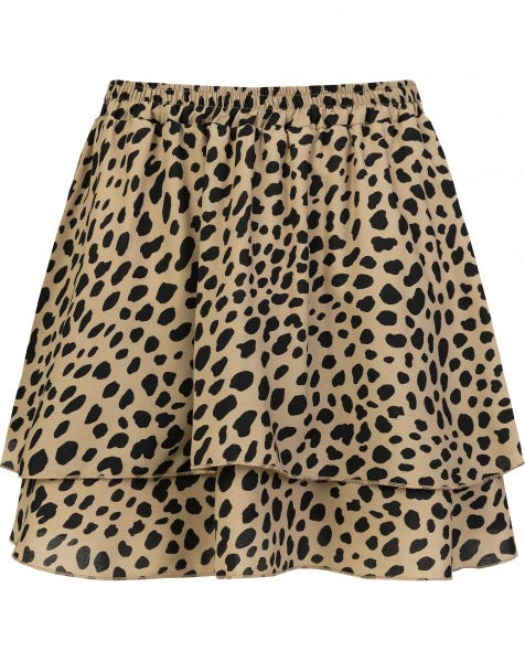 KYLIE CHEETA SKIRT