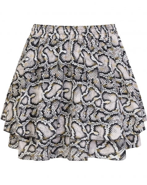 KYLIE SKIRT GOLDEN SNAKE