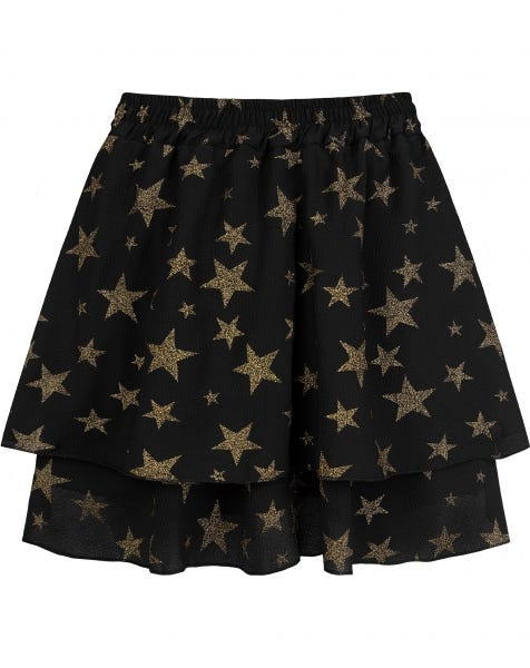 KYLIE SKIRT GOLDEN STARS
