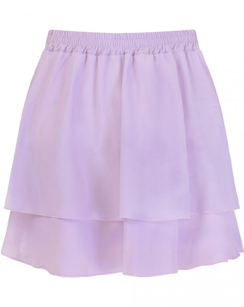 KYLIE PLAIN SKIRT LILA