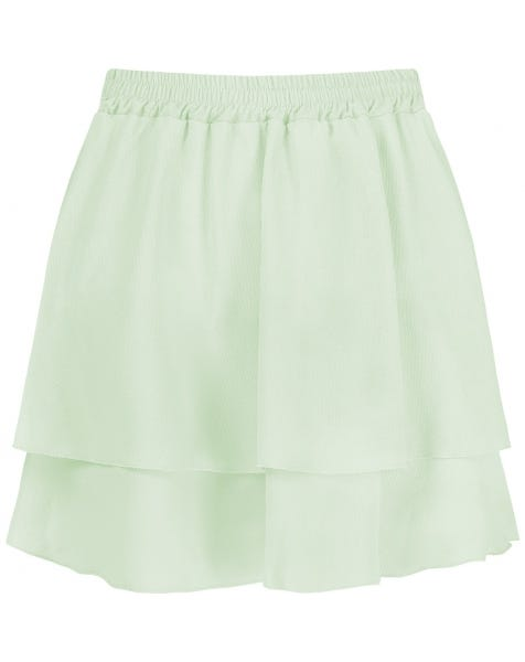 KYLIE SKIRT SATIN MINT