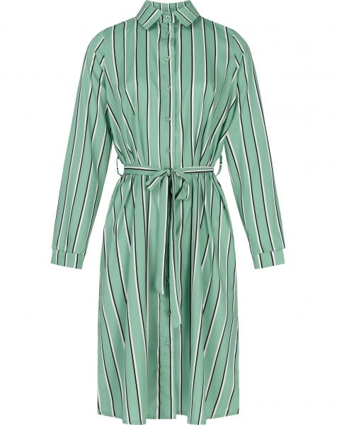 SHAYNA STRIPE DRESS MINT