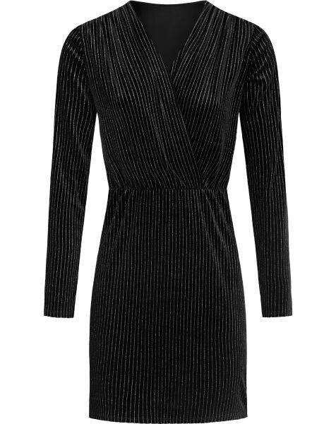 SOPHIA DRESS BLACK SILVER