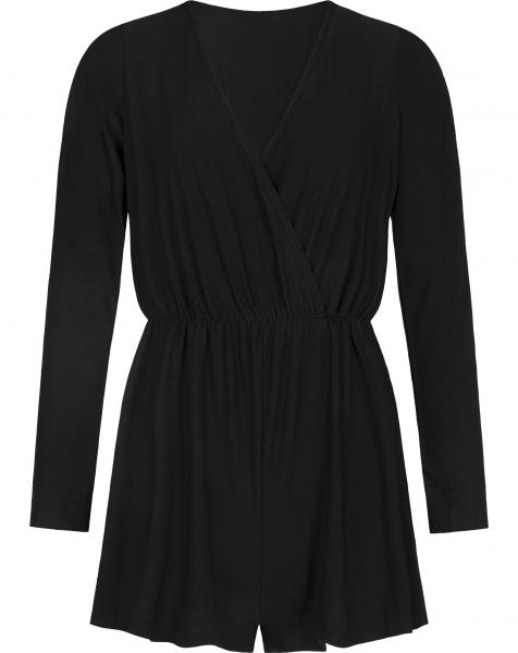 ELSIE PLAYSUIT BLACK