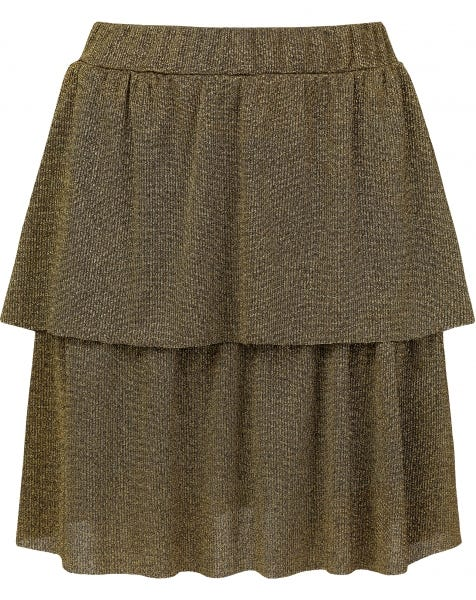 JAIMY SKIRT GOLD GLITTER