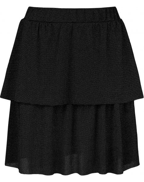 JAIMY SKIRT BLACK GLITTER