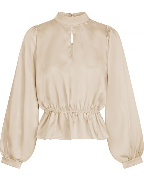 BELLA BLOUSE BEIGE