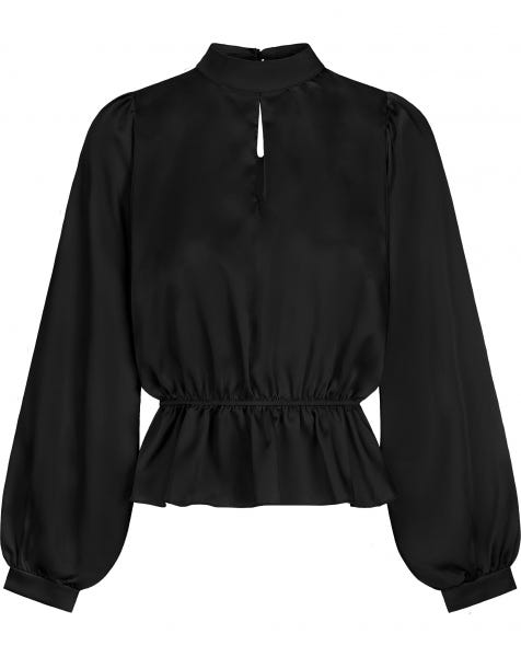 BELLA BLOUSE BLACK