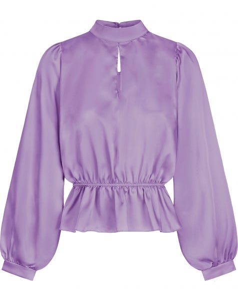 BELLA BLOUSE LILA