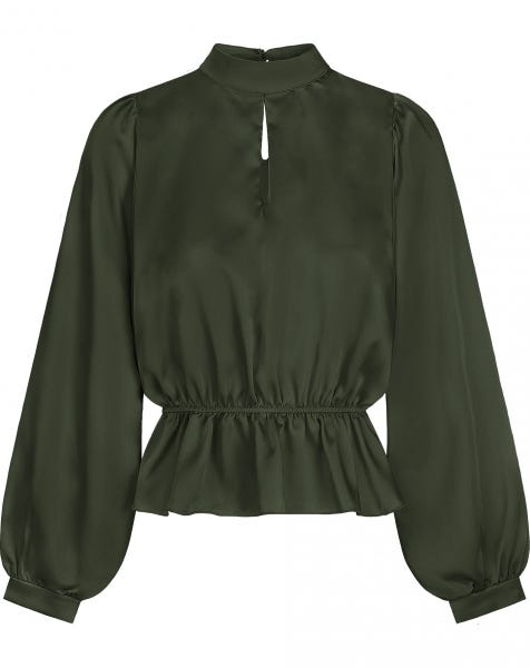 BELLA BLOUSE ARMY