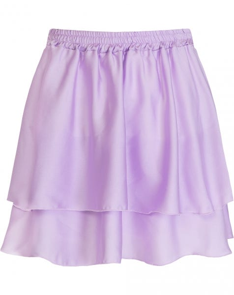KYLIE SKIRT SATIN LILA