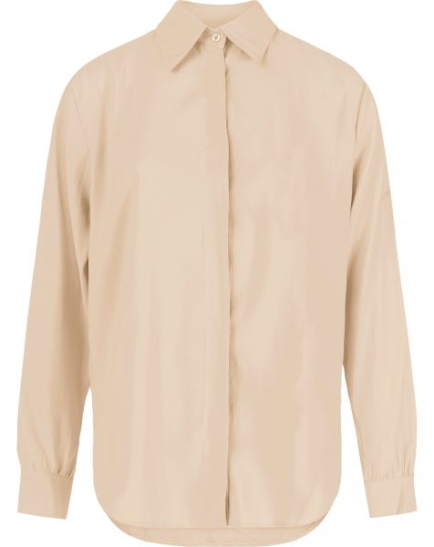 ESSENTIAL BLOUSE BEIGE