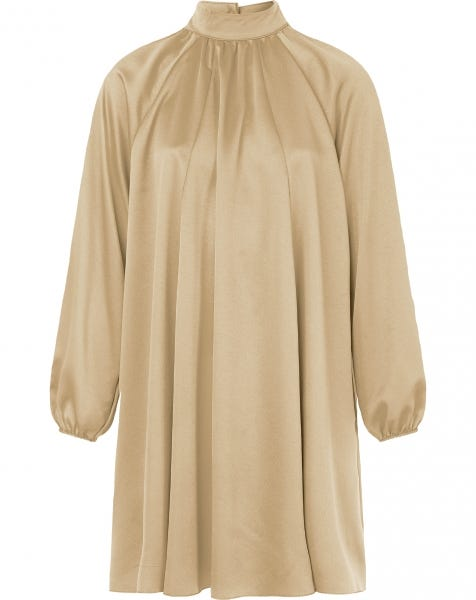 NORI DRESS BEIGE