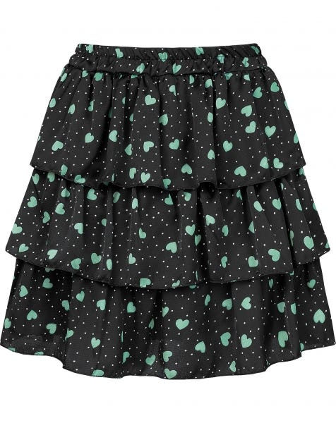 KOURTNEY SKIRT MINT HEARTS