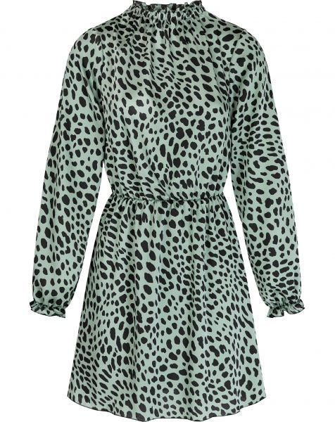 MINTY CHEETA DRESS