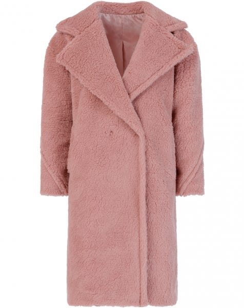 GIGI COAT DUSTY ROSE