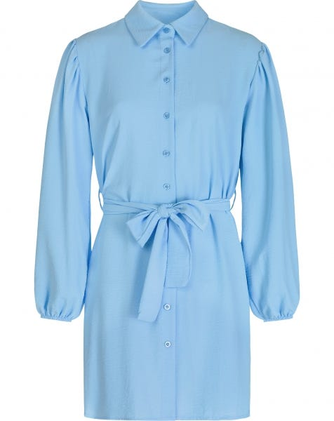 ROSE BLOUSE DRESS BABYBLUE