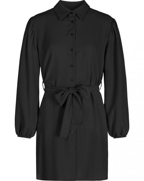 ROSE BLOUSE DRESS BLACK