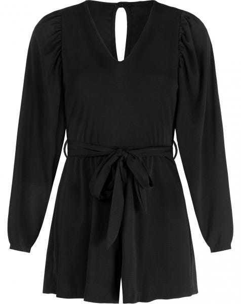COCO PLAYSUIT BLACK