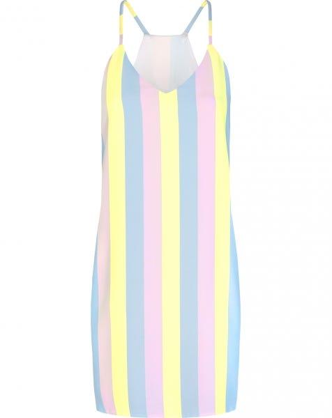 EMMA DRESS PASTEL STRIPES