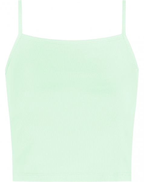 RIBBED CROP TOP MINT