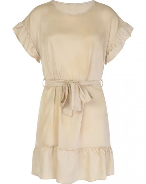 DAWN DRESS BEIGE