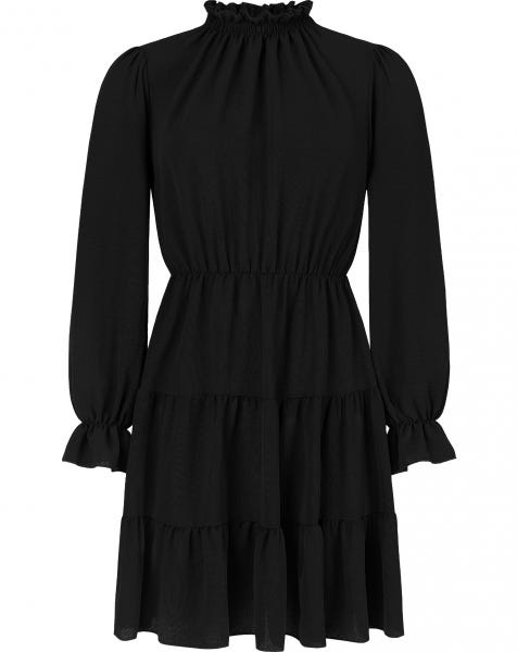 GEORGIE DRESS BLACK