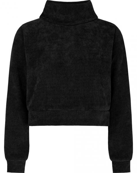 YULI COL SWEAT BLACK