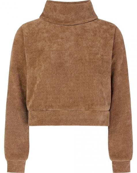YULI COL SWEAT CAMEL