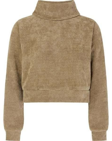 YULI COL SWEAT SAND