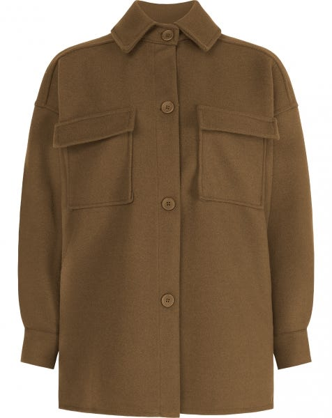 SCOTTIE JACKET CAMEL