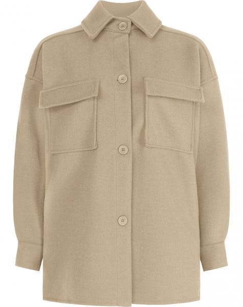 SCOTTIE JACKET SAND