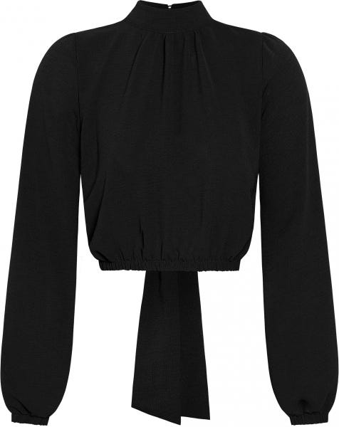 DOLLY BOW TOP BLACK