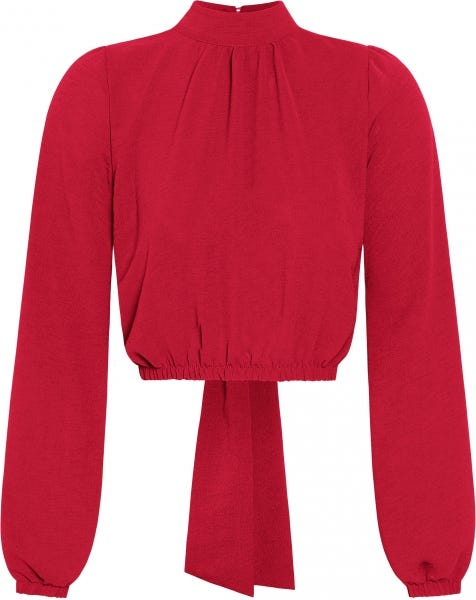 DOLLY BOW TOP RED