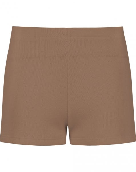 JOJO KNIT SHORTS CAMEL