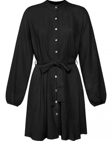 MOUSSELINE DRESS BLACK