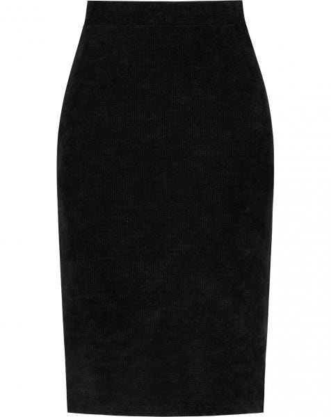 YULI MIDI SKIRT BLACK