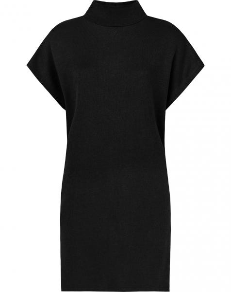 JOJO KNIT DRESS BLACK