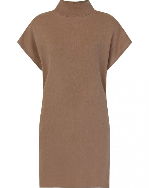 JOJO KNIT DRESS CAMEL