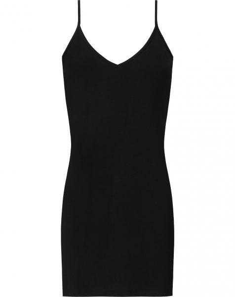 PERFECT V-NECK UNDER DRESS BLACK
