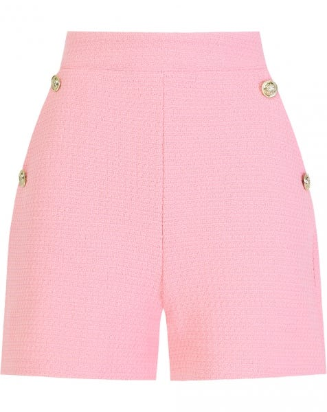 SOLID BOUCLE SHORT PINK