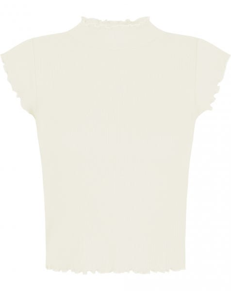 HOLLY RUFFLE TOP CREAM